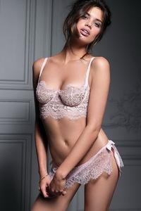 Beautiful Sara Sampaio Hot Lingerie Photos 11