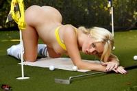 Alexis Ford Tees Off Bikini Style 12