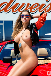 Gorgeous Playmate Alyssa Arce Slow Emotion 07
