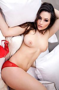 Anastasia Harris In Hot Red Panties
